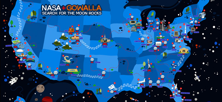 Nasa Gowalla Map