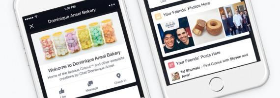 Facebook introduce i Place Tips: cosa sono e come funzionano